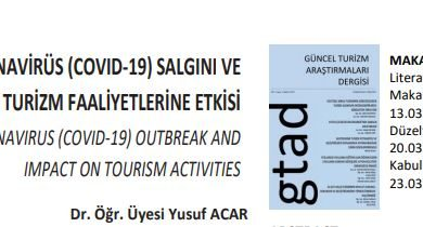 Photo of Koronavirüs Salgını ve Turizme Etkisi