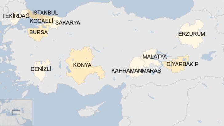 Koronavirüs: BBC Türkçe'nin araştırmasına göre 11 ilde 8 ayda yaklaşık 11 bin ek ölüm var, artış beklenenin üzerinde