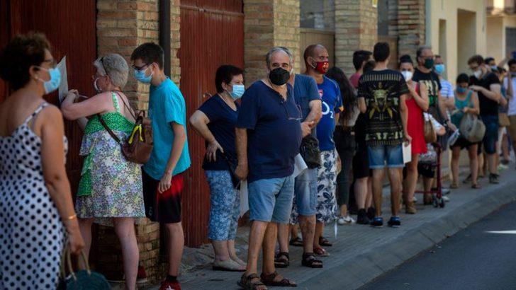 Avrupa'da Salgınının İkinci Dalgası Giderek Büyüyor